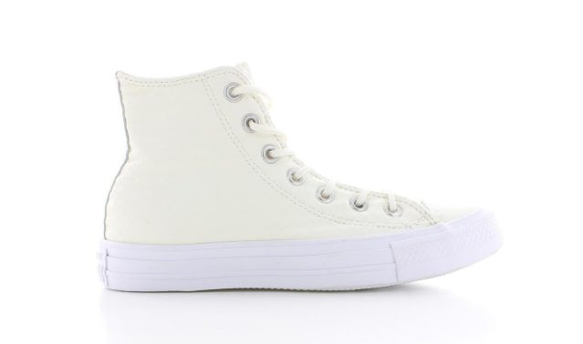 Converse All Star Hi Wit/Wit Dames