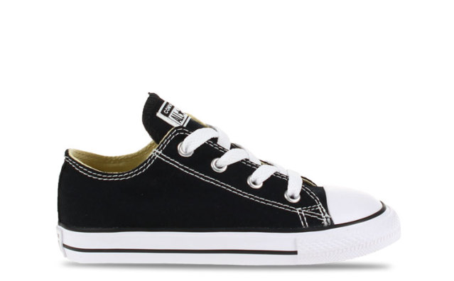 Converse All Star OX Low Black Baby
