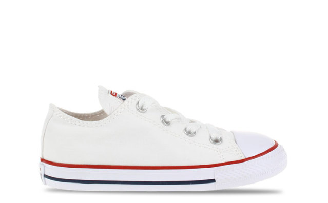 Converse All Star OX Low White Baby