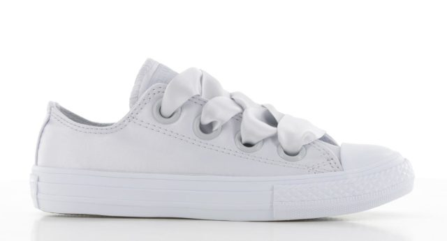 Converse Chuck Taylor All Star Big Eyelet - Ox Wit Kinderen