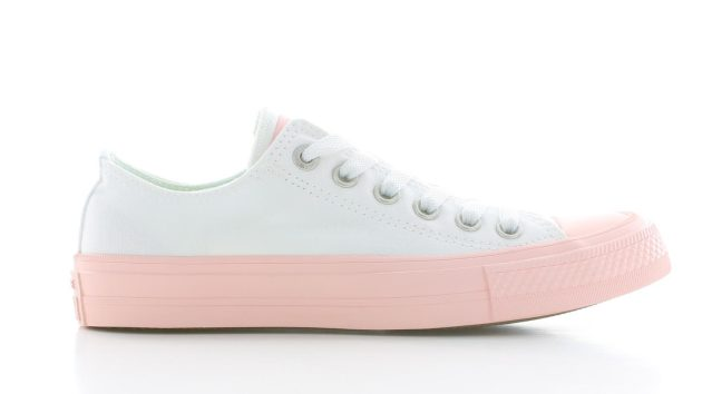 Converse Chuck Taylor II Low Top White/Vapor Pink Dames