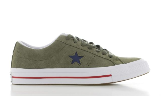 Converse One Star Groen/Wit Heren