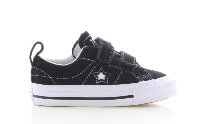 Converse One Star Velcro Black Baby