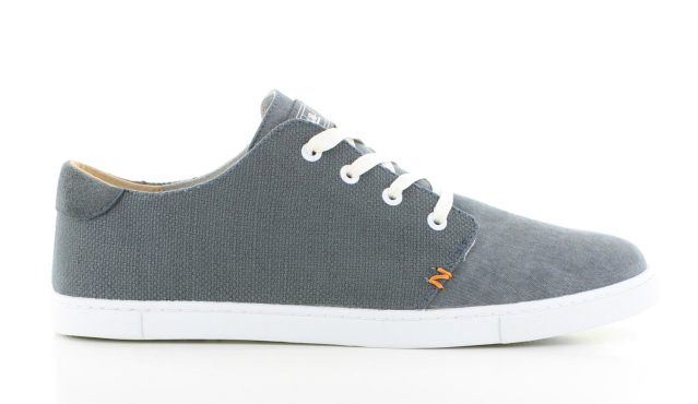 Hub Ashbury Canvas Greyish Blue Heren
