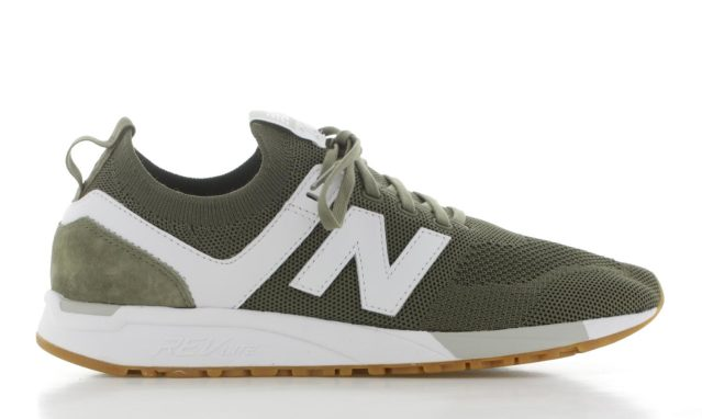 New Balance MRL247DV Groen/Wit Heren
