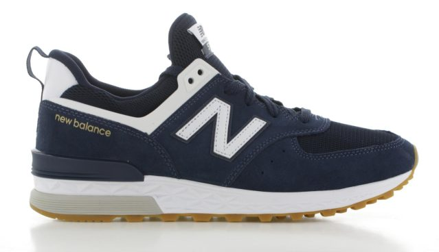 New Balance MS574 Blauw Heren