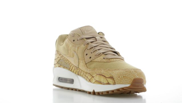 100% authentic fbb0e 25181 Nike Air Max 90 Premium Leather Brons Heren