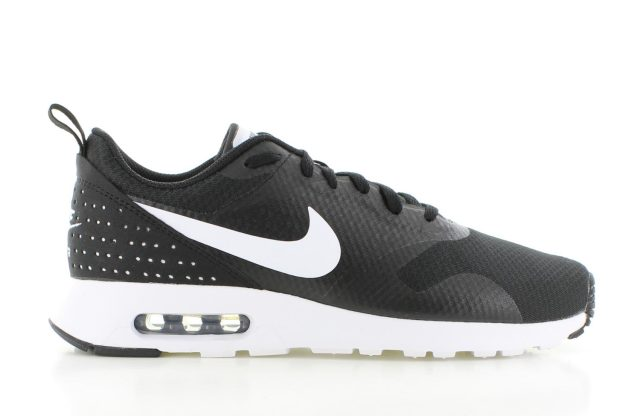 Nike Air Max Tavas Black White Heren