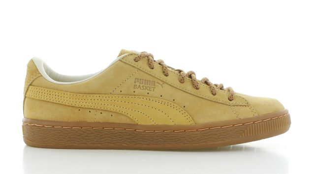 Puma Basket Classic Winterized Beige Dames