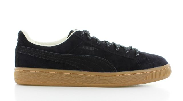 Puma Basket Classic Winterized BLACK Dames