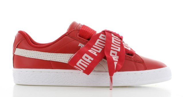 Puma Basket Heart Toreador Red Dames