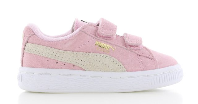 Puma Suede Pink Velcro Peuters
