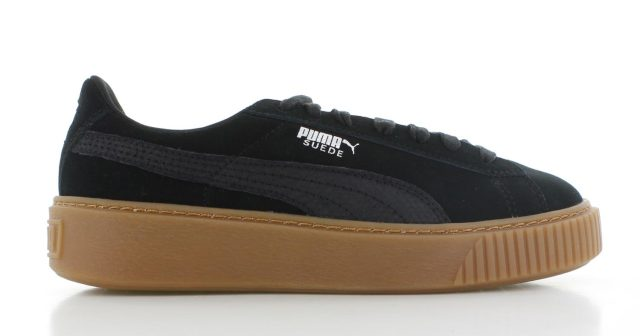 Puma Suede Platform ´Animal Pack´ Black Dames