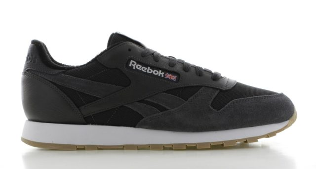 Reebok Classic Leather Estl Donker-grijs Heren