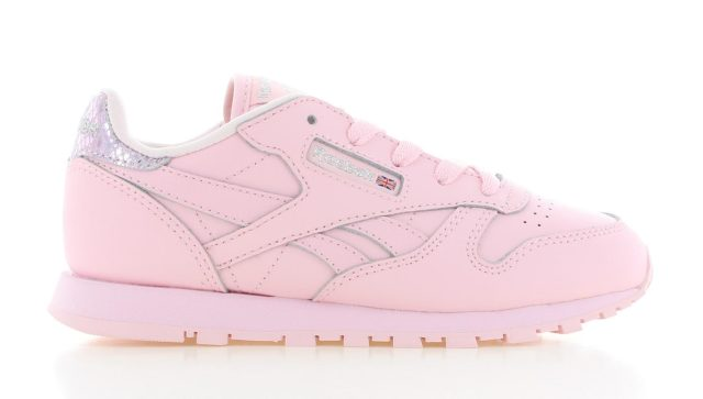 Reebok Classic Leather Metallic Pink Kinderen