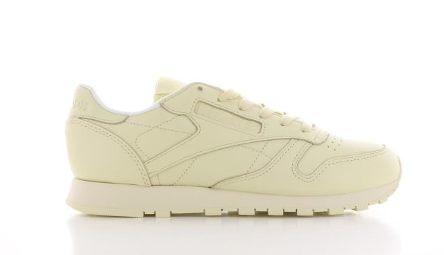 Reebok Classic Leather Pastels Washed Yellow Dames