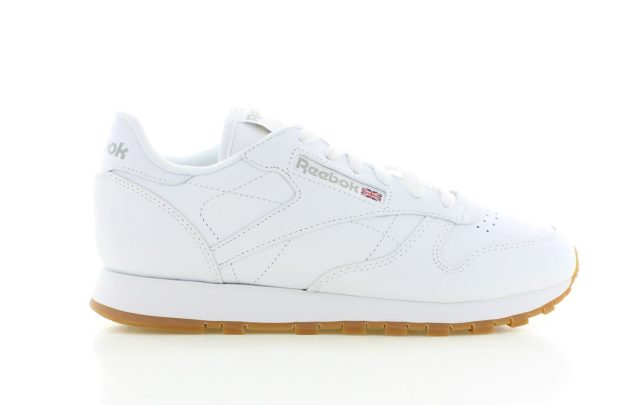 Reebok Classic Leather White Gum Sole Dames