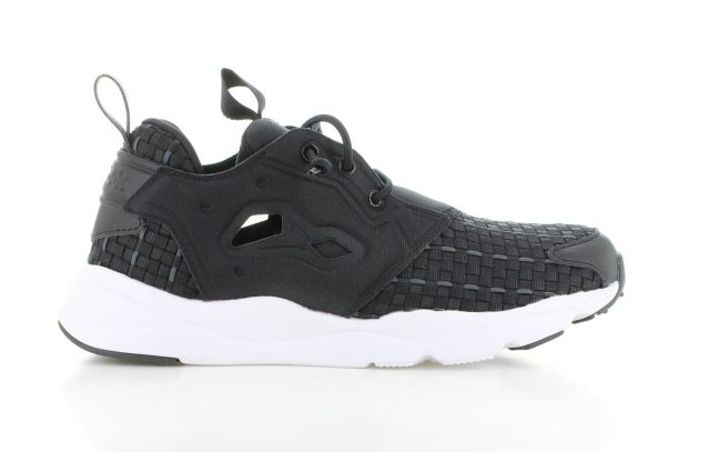 Reebok Furylite New Woven Black Dgh Solid Grey White Dames