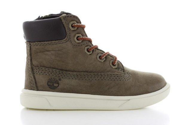 Timberland Groveton 6 Inch Lace Up Olive Baby/Kinderen
