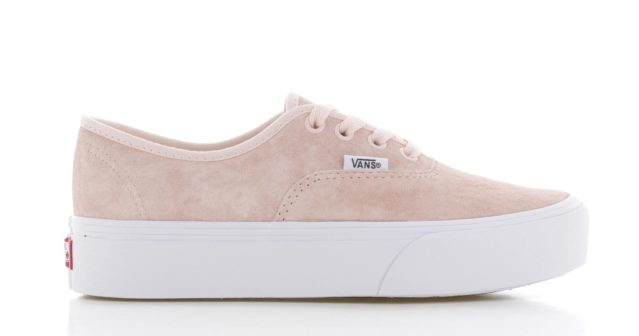 Vans Authentic Platform Oudroze Dames