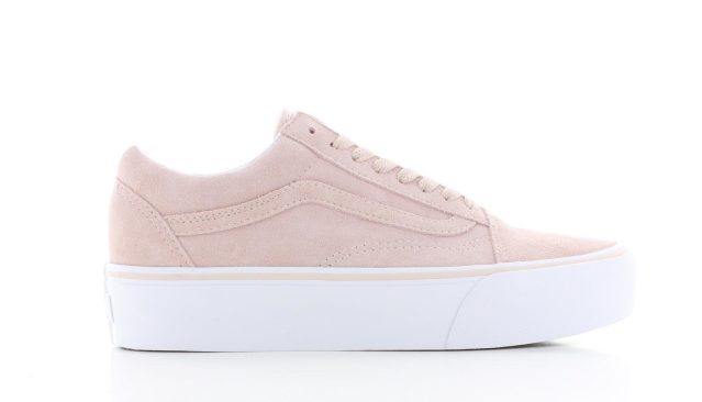 Vans Old Skool Platform Sepia Rose Suede Dames