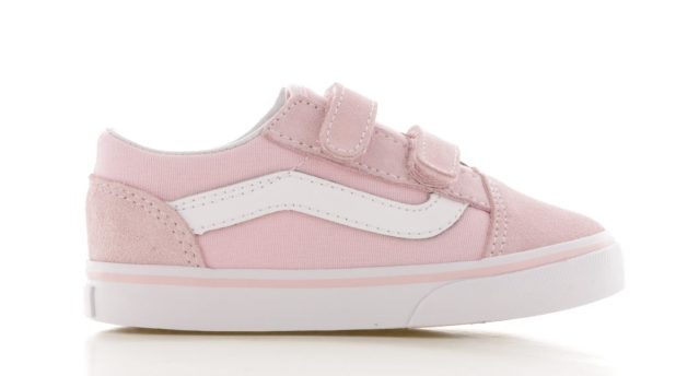 Vans Old Skool Roze Wit Peuters