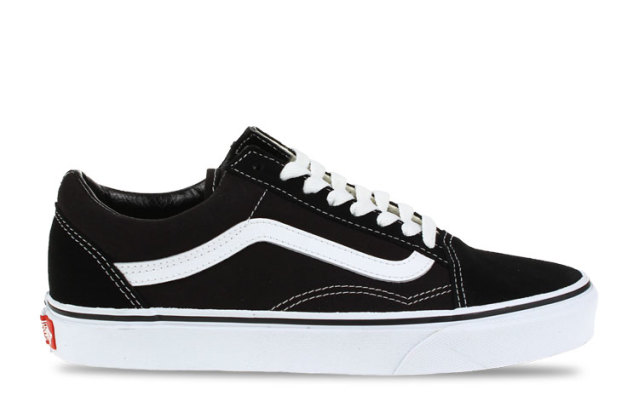 Vans Old Skool Zwart/Wit Heren