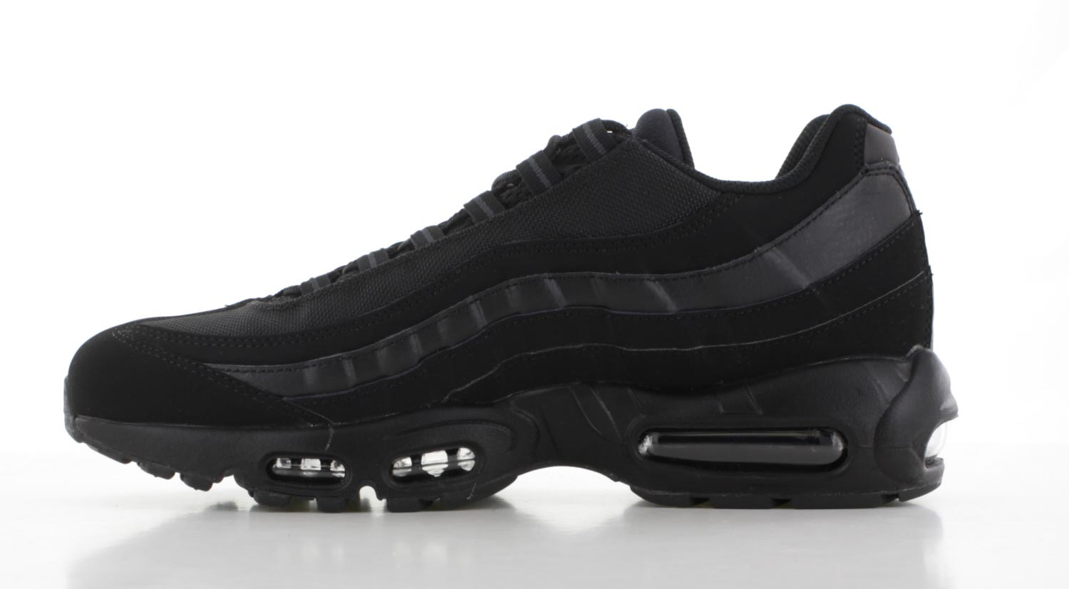 nike air max 95 zwart heren