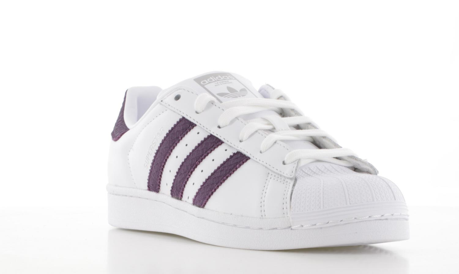 witte adidas superstar dames