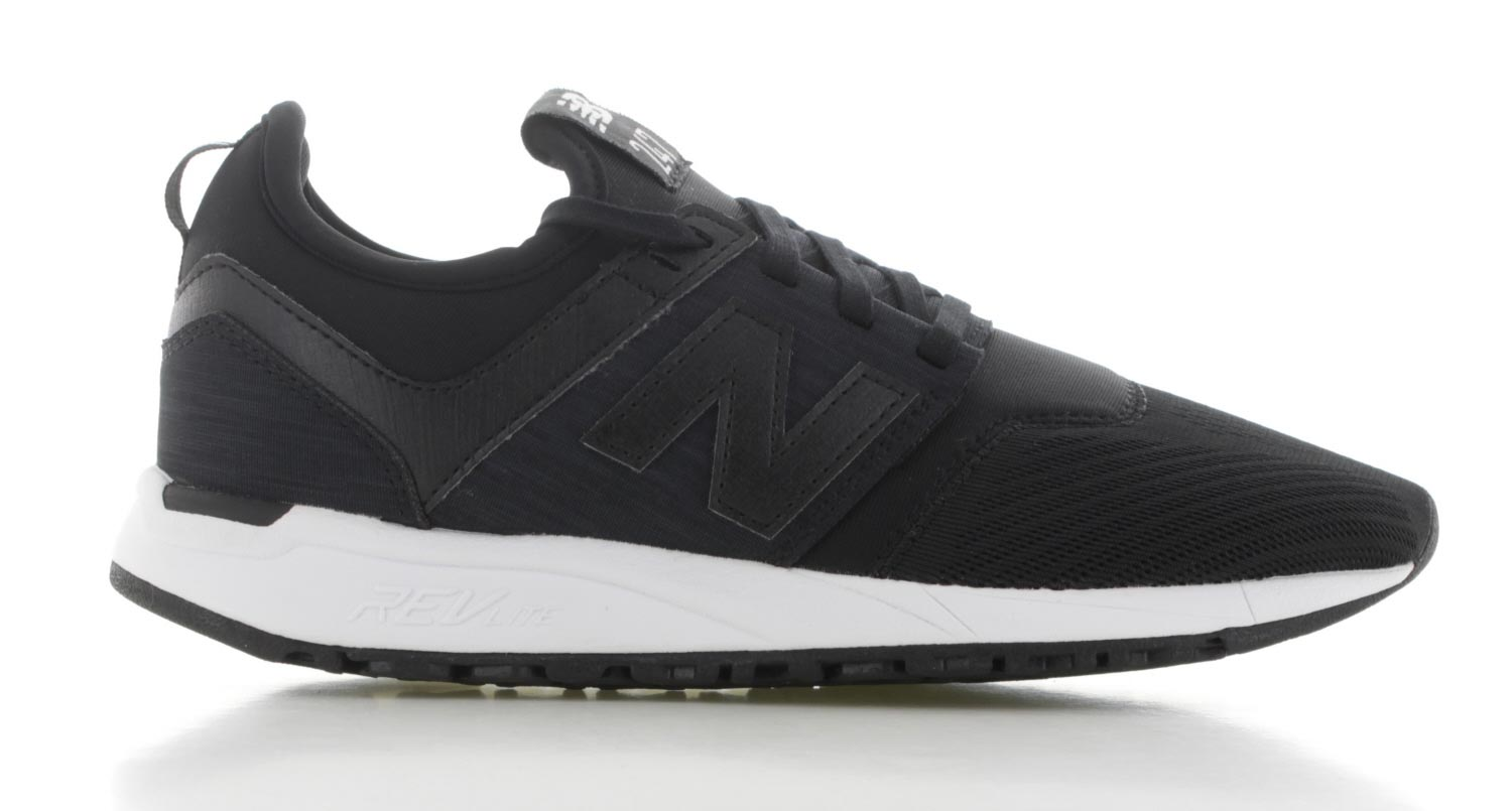 new balance zwart dames