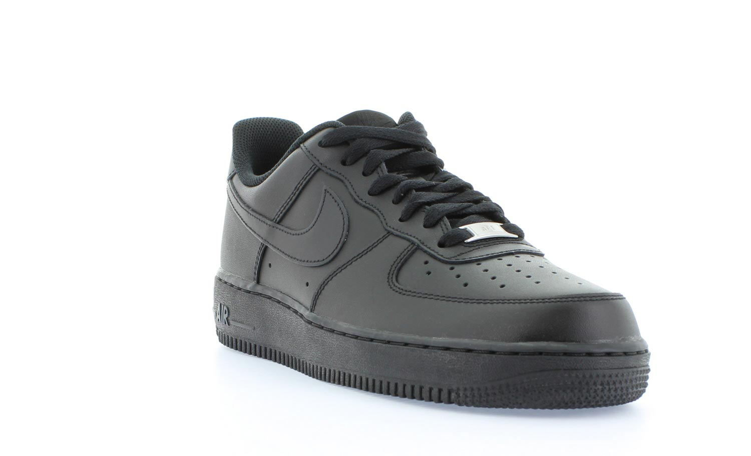 nike air force 1 low heren zwart