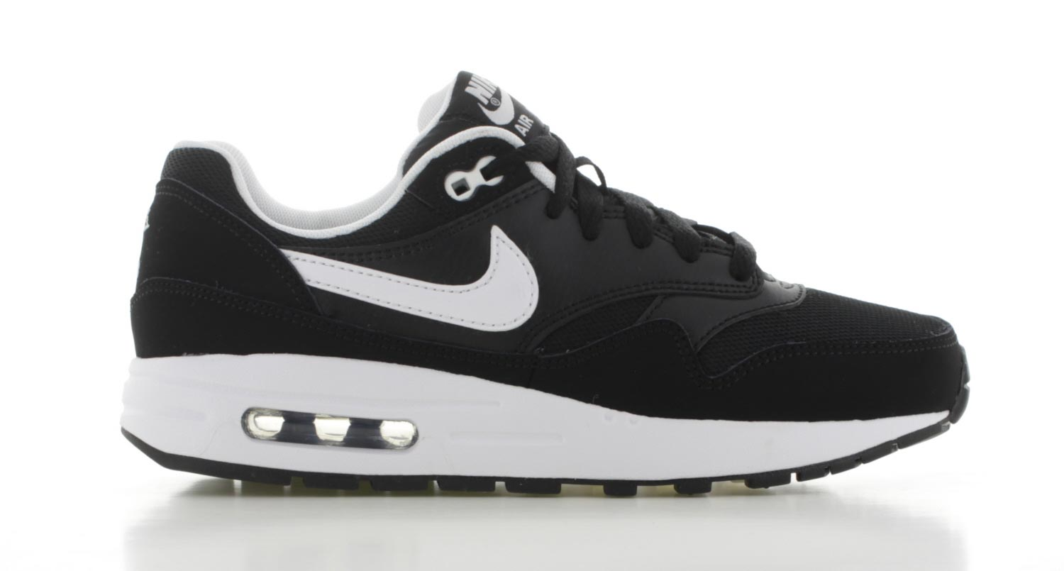 nike air max 1 zwart wit
