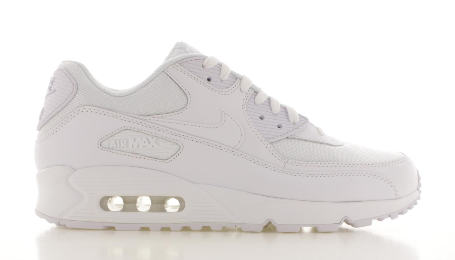 nike air max 90 leather heren wit