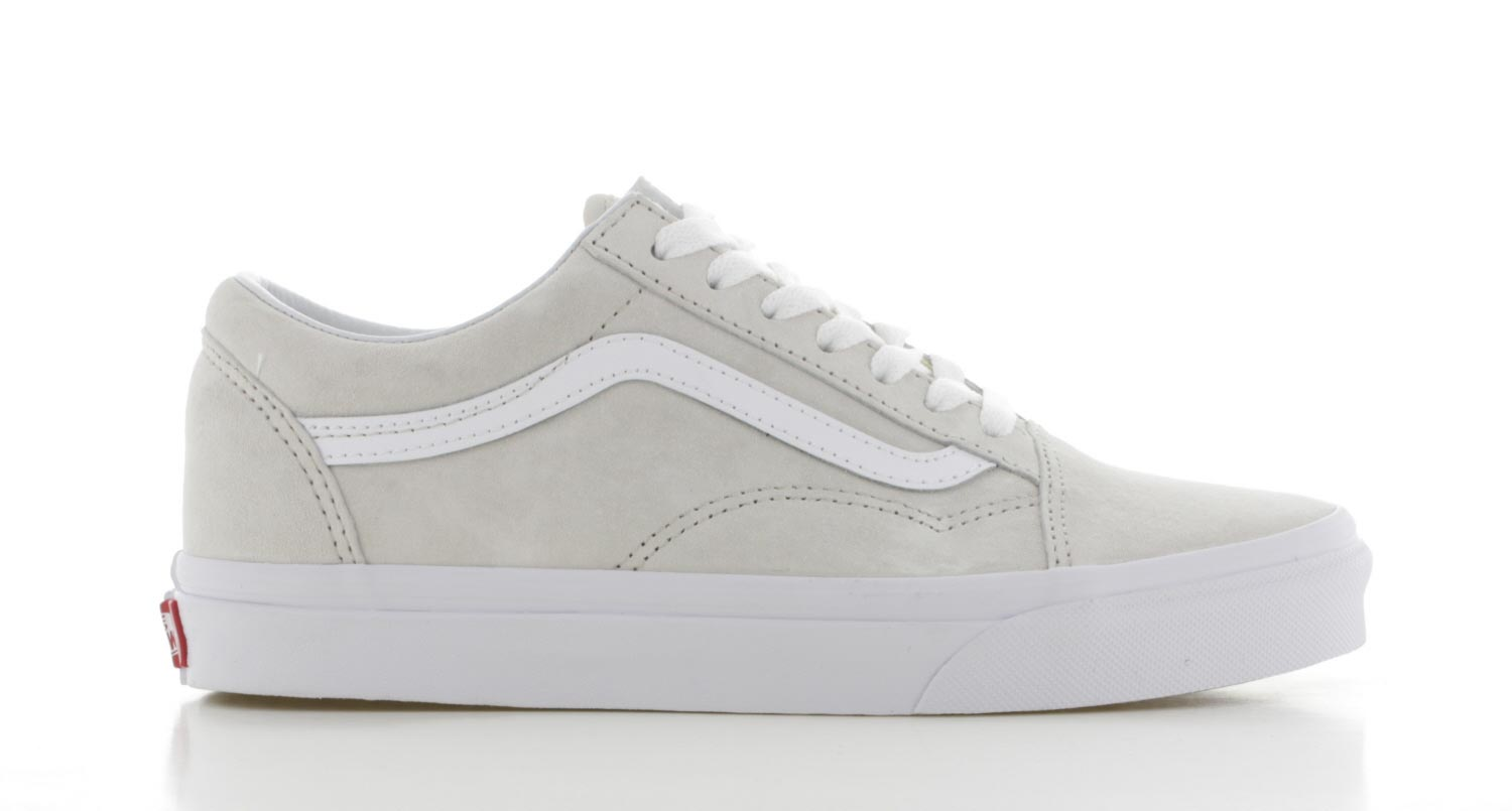 vans old skool suede dames zwart