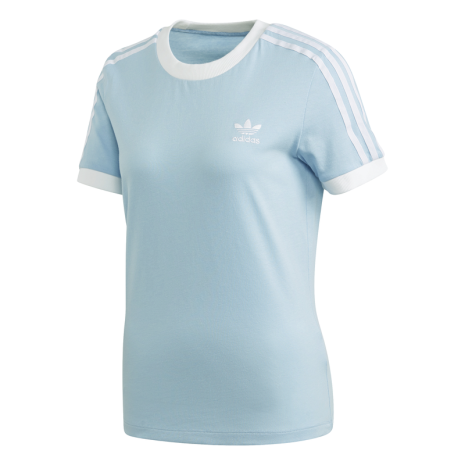 adidas 3-Stripes T-shirt Blauw Dames