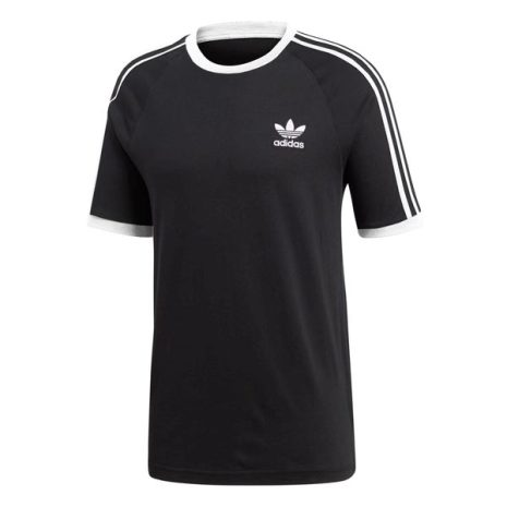 adidas 3-Stripes Tee Zwart Heren