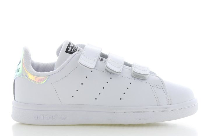 adidas Stan Smith J White Metalic Kinderen