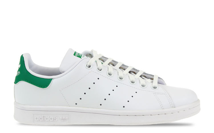 adidas Stan Smith Wit/Groen Dames