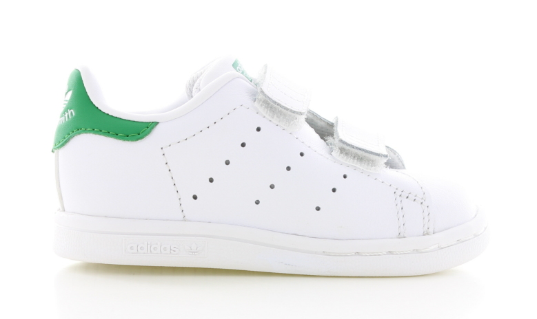 adidas Stan Smith Wit/Groen Peuters