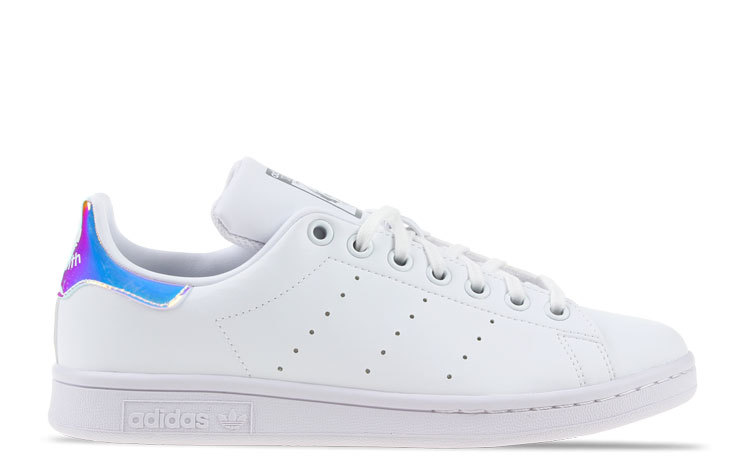 adidas Stan Smith Wit/ Metallic Primegreen