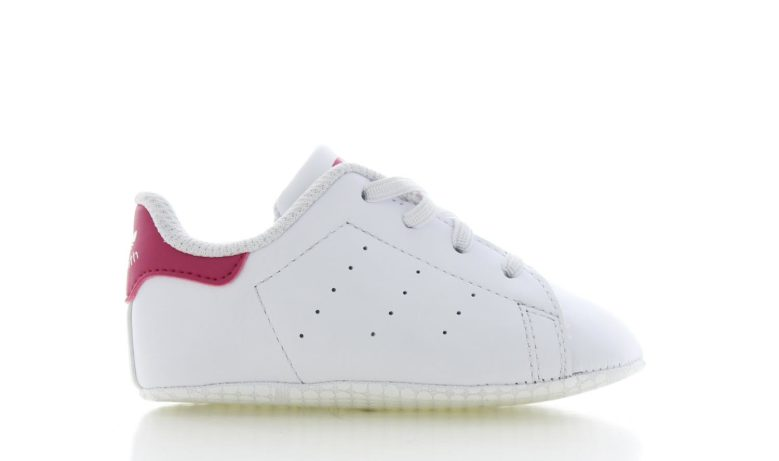 adidas Stan Smith Wit/Roze Baby