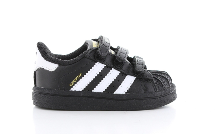 caf2fd0815a adidas Foundation Zwart Peuters | B23638 | Sneakers.nl