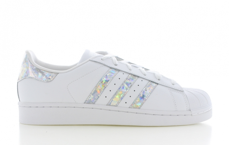 adidas superstar dames wit met zwart