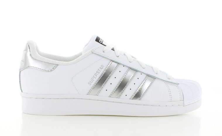 adidas Superstar WitZilver Dames