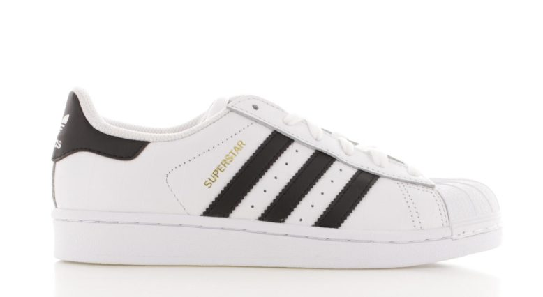 zwarte adidas sneakers superstar dames