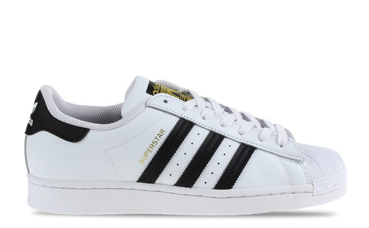 adidas Superstar Wit/Zwart