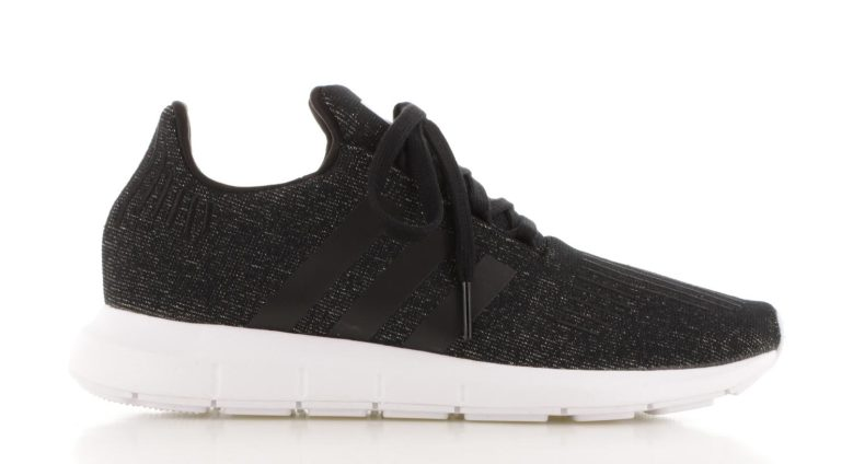adidas Swift Run Zwart Glitter Dames