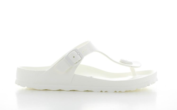 Birkenstock Gizeh All White Dames