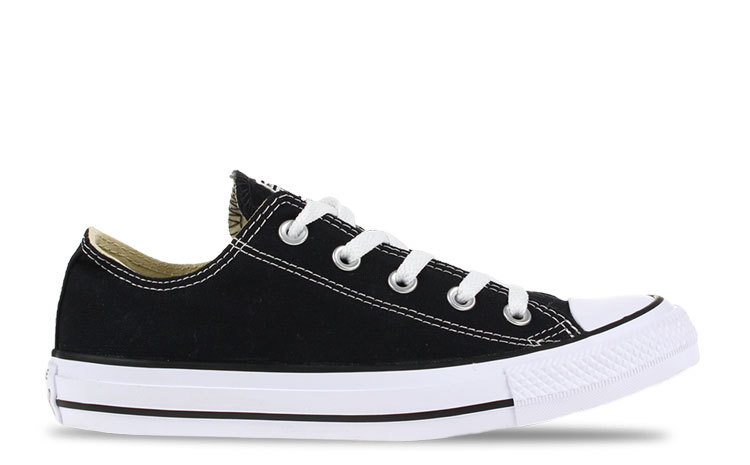 2742cb3aad4 Converse All Star Low OX Zwart/Wit Dames | M9166 ALL ST LO | Gratis ...