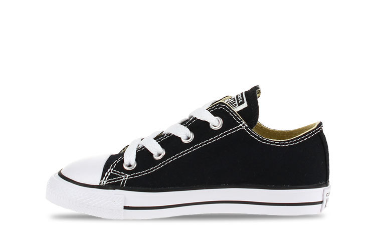 Converse All Star OX Low Zwart Peuters